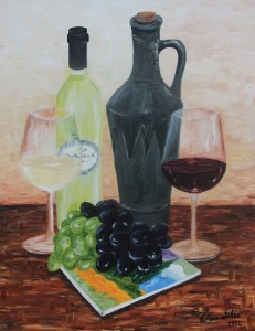 26 Wine In the style of Van Gogh 2012 (2)